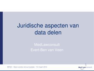 Juridische aspecten van data delen