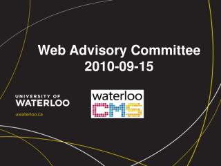Web Advisory Committee 2010-09-15