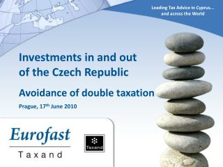 Leading Tax Advice in Cyprus...  and across the World