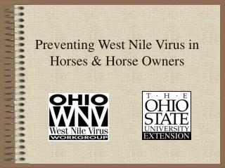 Preventing West Nile Virus in Horses & Horse Owners