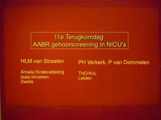 HLM van Straaten Amalia Kinderafdeling Isala klinieken Zwolle