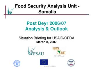 Food Security Analysis Unit - Somalia