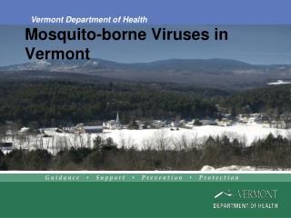 Mosquito-borne Viruses in Vermont