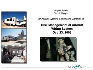 Risk Management of Aircraft Wiring System Oct. 23, 2003