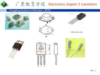chapter 2  transistors (BJT)
