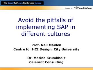 Avoid the pitfalls of implementing SAP in different cultures