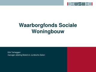 Waarborgfonds Sociale Woningbouw