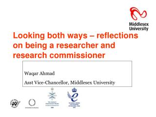 Looking both ways – reflections on being a researcher and research commissioner