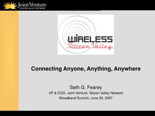 Connecting Anyone, Anything, Anywhere
