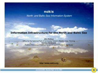nok i s North- and Baltic Sea Information-System
