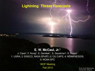 Lightning  Threat Forecasts