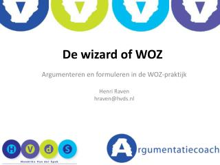 De wizard of WOZ