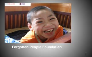 Forgotten People Foundation