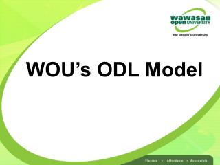 WOU's ODL Model