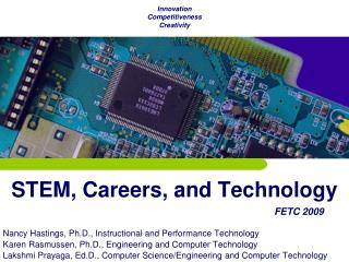 STEM, Careers, and Technology