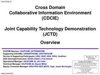 Cross Domain  Collaborative Information Environment (CDCIE)