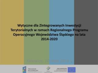 Katowice, 10 maja 2013 r .