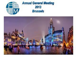 Annual General Meeting 2013 Brussels
