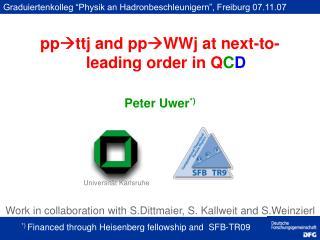 Peter Uwer *)
