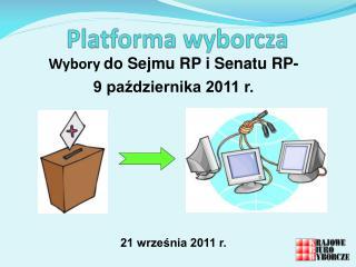 Platforma wyborcza