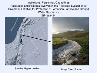 Satellite Map of Jordan