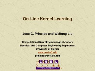 On-Line Kernel Learning