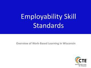 Employability Skill Standards