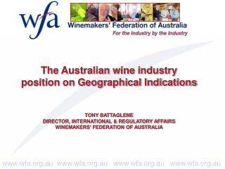 Why does the Australian industry have a GI protection system?