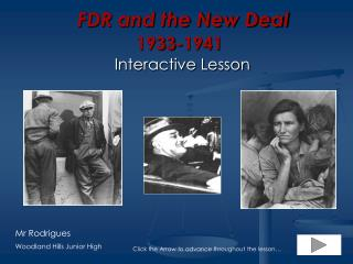 FDR and the New Deal 1933-1941