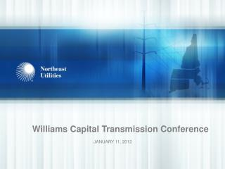Williams Capital Transmission Conference