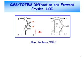 CMS/TOTEM Diffraction and Forward Physics  LOI