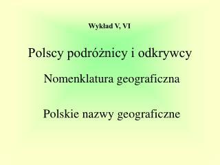 Polscy podróżnicy i odkrywcy