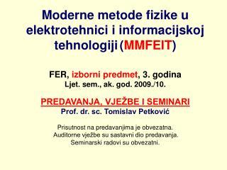 MMFEIT, 1. domaća zadaća  11. ožujka 2008., ljet. sem. ak. god. 2007./08.