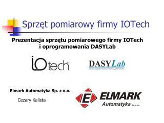 Sprzęt pomiarowy firmy IOTech