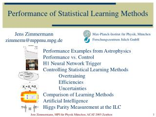 Performance of Statistical Learning Methods