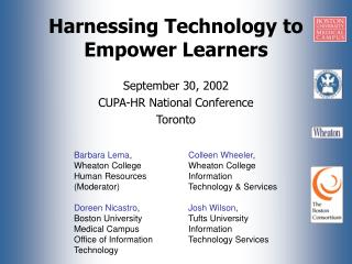 Harnessing Technology to Empower Learners