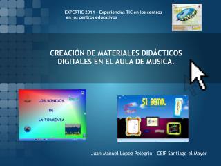 CREACIÓN DE MATERIALES DIDÁCTICOS DIGITALES EN EL AULA DE MUSICA.