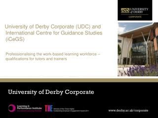 University of Derby Corporate