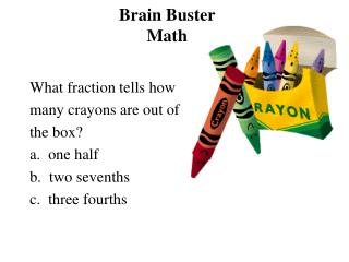 Brain Buster Math