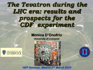 The  Tevatron  during the LHC era: results and prospects for the CDF� experiment