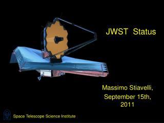 JWST  Status