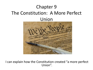 Constitution Outline Packet Answers