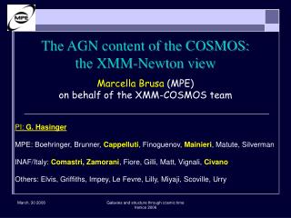 The AGN content of the COSMOS:  the XMM-Newton view