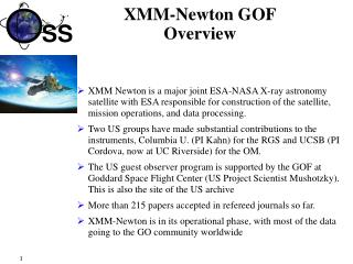 XMM-Newton GOF Overview