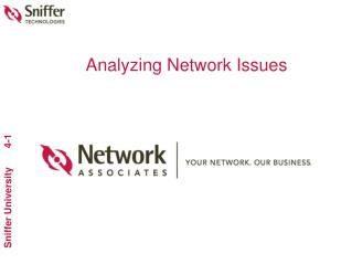 Analyzing Network Issues