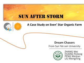Sun after storm