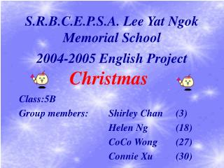 S.R.B.C.E.P.S.A. Lee Yat Ngok Memorial School