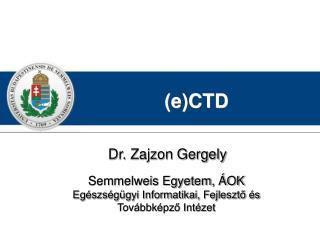 (e)CTD