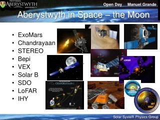 Aberystwyth in Space – the Moon