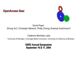 OpenAccess Gear